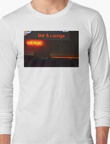 Live Music Sign Long Sleeve T-Shirt