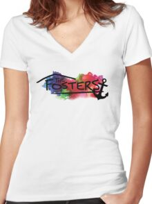 The Fosters : I need an anchor Women's Fitted V-Neck T-Shirt