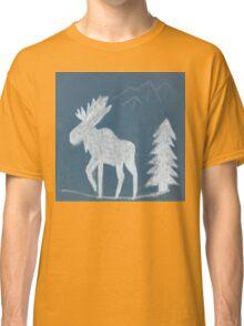 Snow Moose Classic T-Shirt