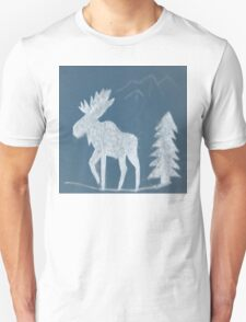 Snow Moose T-Shirt