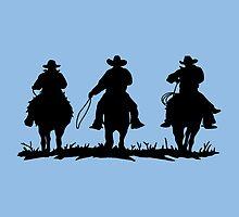 Cowboys by Juanita Bishop