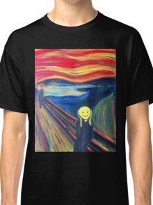 The Smile (The Scream, after Munch) Classic T-Shirt