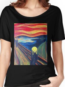 The Smile (The Scream, after Munch) Women's Relaxed Fit T-Shirt