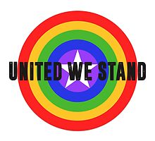 Rainbow Shield - United We Stand! by logosandpathos