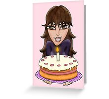 Birthday wishes - girl Greeting Card