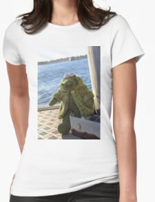 Alligator Ahoy Womens Fitted T-Shirt