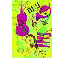 Psychedelic Music  Photographic Print