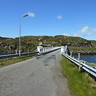 Bernera Bridge, Western Isles, Scotland by kathrynsgallery