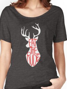 Eat the Rude Women's Relaxed Fit T-Shirt