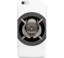 Special Operations Diver iPhone Case/Skin