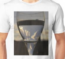 The World Through a Wine Glass Unisex T-Shirt