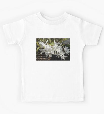 White Orchids Kids Tee