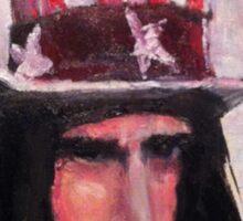 Frank Zappa (Top Hat) Sticker