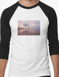 Mirror on Main Beach Men's Baseball ¾ T-Shirt