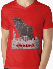 Grimlock Mens V-Neck T-Shirt