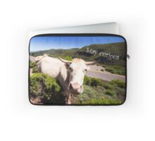 Curious Cow - Nature Photography Laptop Sleeve