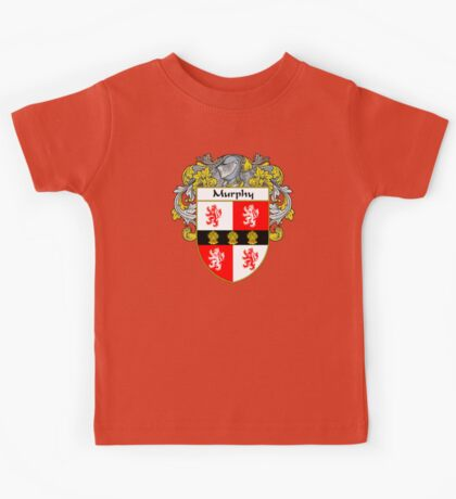 Murphy Coat of Arms/Family Crest Kids Tee