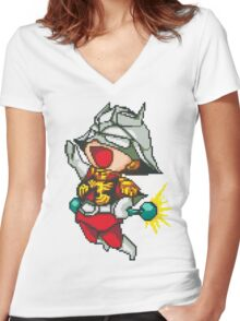 Char Aznable Women's Fitted V-Neck T-Shirt