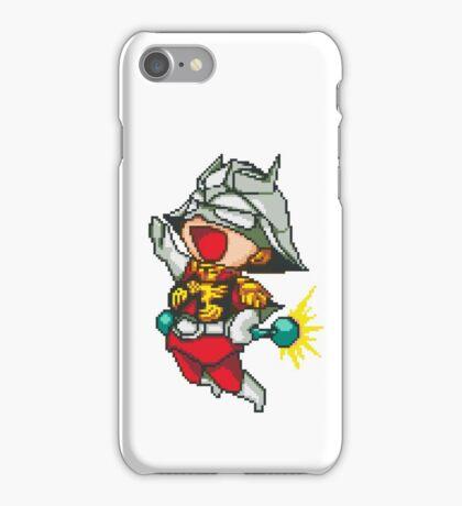 Char Aznable Gundam - SNES Sprite iPhone Case/Skin