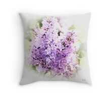 ~ Lilac Dreams ~ Throw Pillow