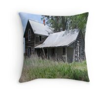 My Old Place Throw Pillow