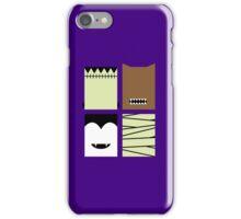Minimal Monster Mash iPhone Case/Skin