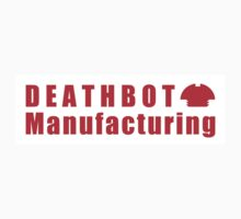 Deathbot Mfg Red Logo Kids Tee