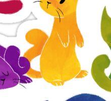 LGBT+ PRIDE CATS Sticker
