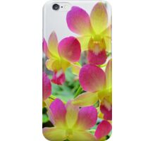Pink and Yellow Orchids iPhone Case/Skin