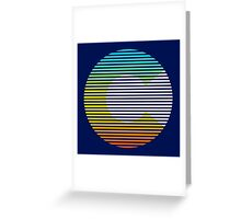 colorado chill fade Greeting Card