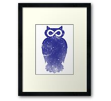 Cosmic owl II Framed Print