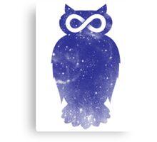 Cosmic owl II Canvas Print