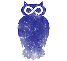 Cosmic owl II Photographic Print