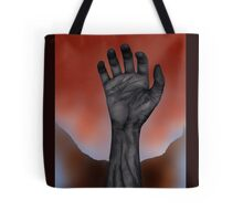 Night of the Living Hand Tote Bag