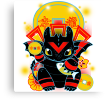 Lucky Dragon Canvas Print