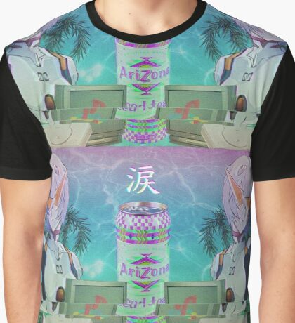 Vaporwave Rei Graphic T-Shirt