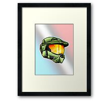Stylised Spartan Framed Print