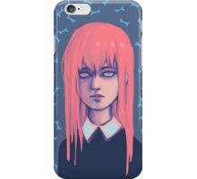 salmon hair iPhone Case/Skin