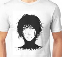 Black Hair & Neck - Male Unisex T-Shirt