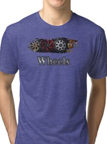 Wheels Tri-blend T-Shirt