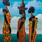 Gathering of sisters by Kevin McDowell
