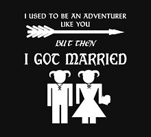 Skyrim Marriage (White) Unisex T-Shirt