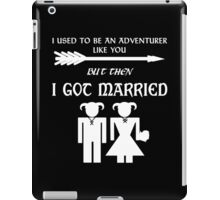 Skyrim Marriage (White) iPad Case/Skin