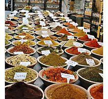 Spice Market, Jerusalem Photographic Print