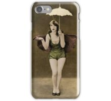 Victorian Circus Performer iPhone Case/Skin
