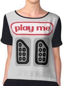 play me ports Chiffon Top