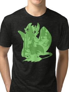 Shadow Dragon Tri-blend T-Shirt