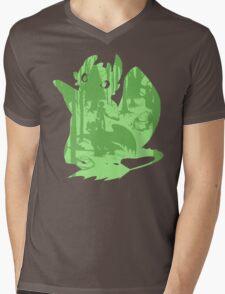 Shadow Dragon Mens V-Neck T-Shirt