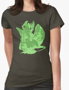 Shadow Dragon Womens Fitted T-Shirt