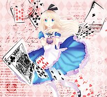 ALICE IN WONDERLAND by enzou